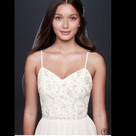 dc45e7feb7b Wedding dress white gown. NWT. DB Studio